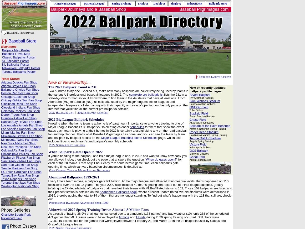 baseballpilgrimages.com