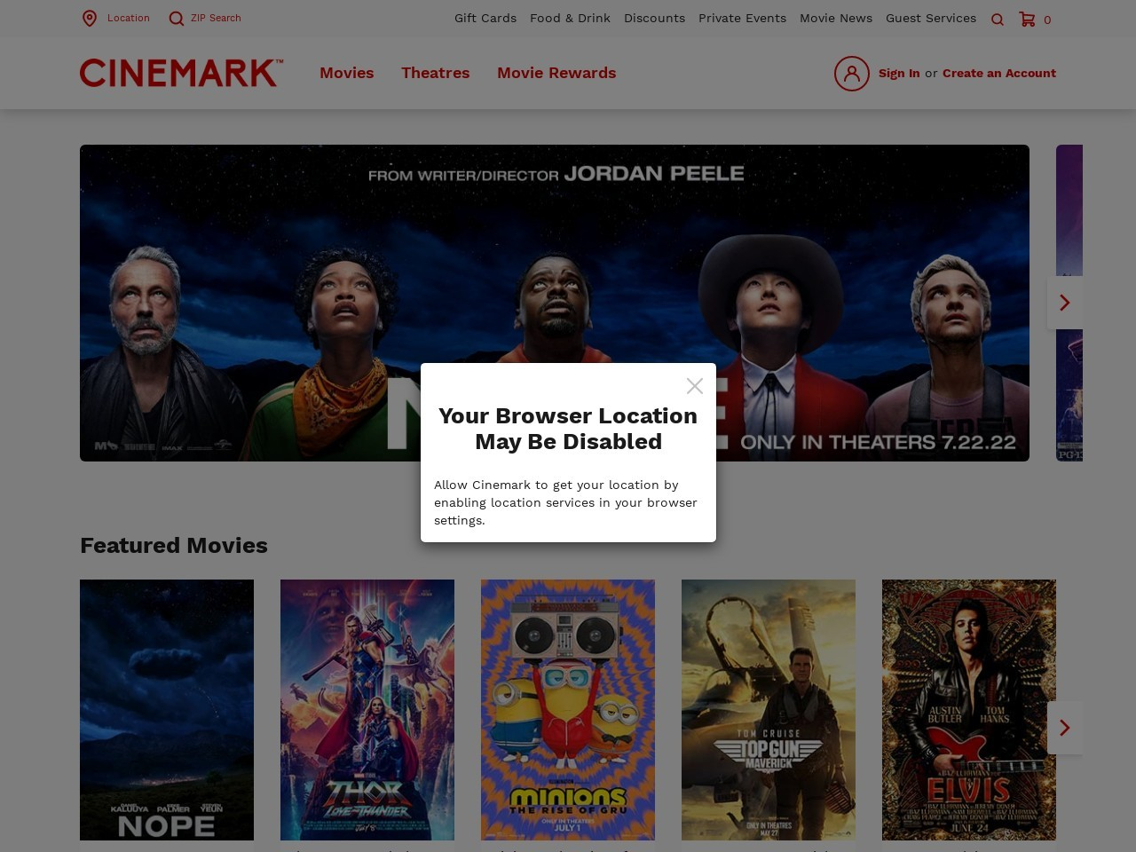 Cinemark Theatres - Movies, Tickets and Showtimes