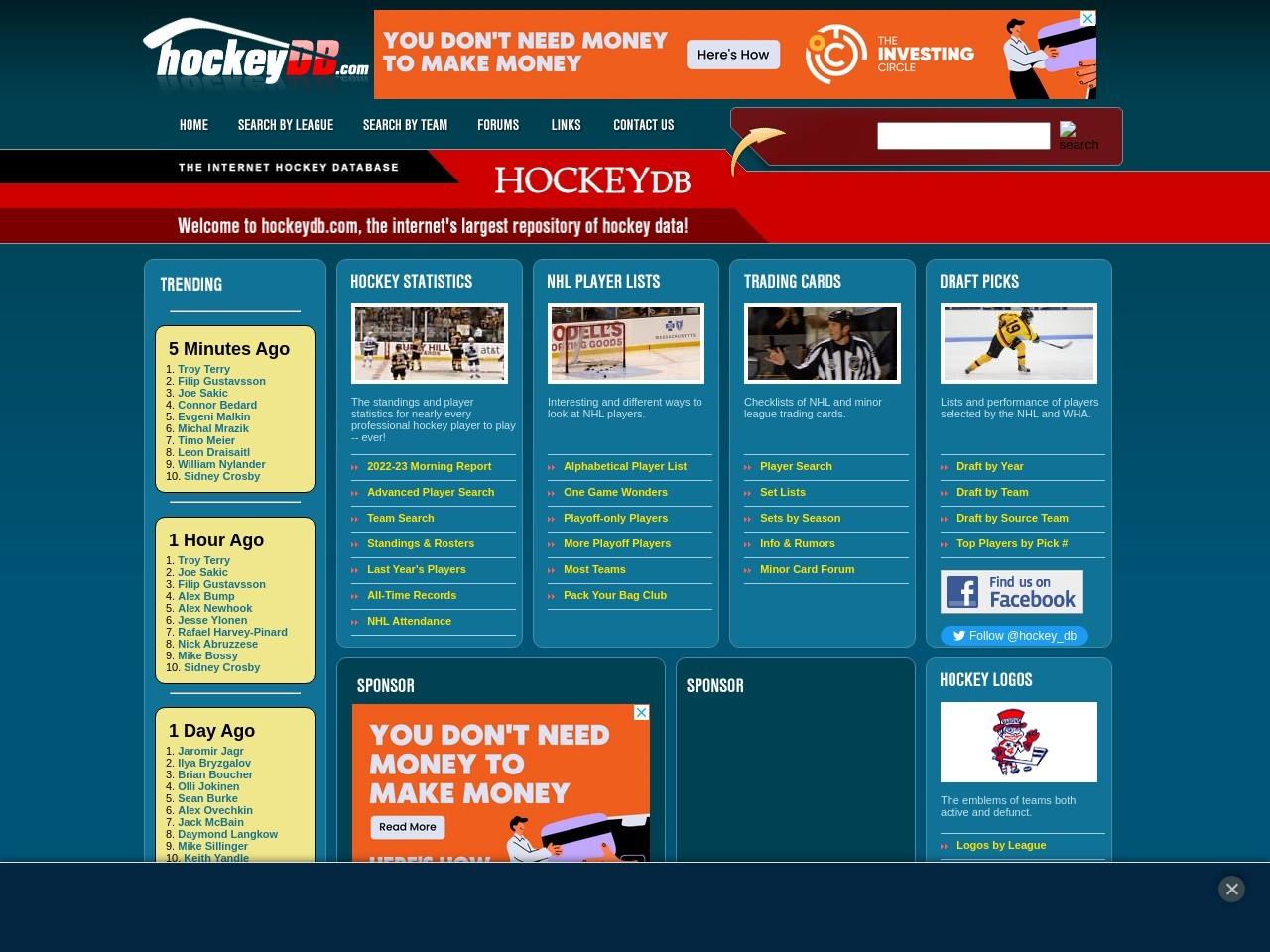 hockeydb.com