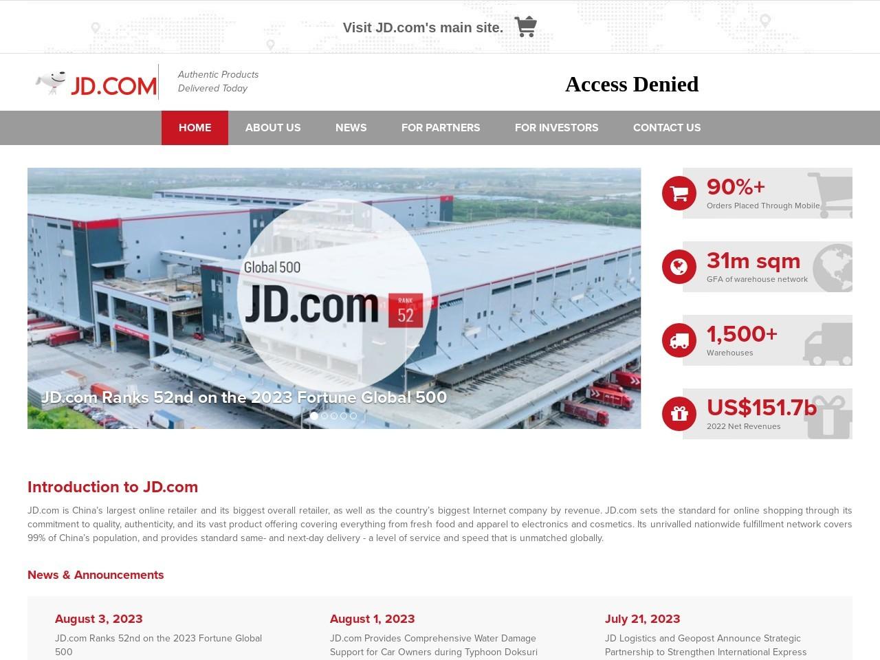 JD.com, Inc.