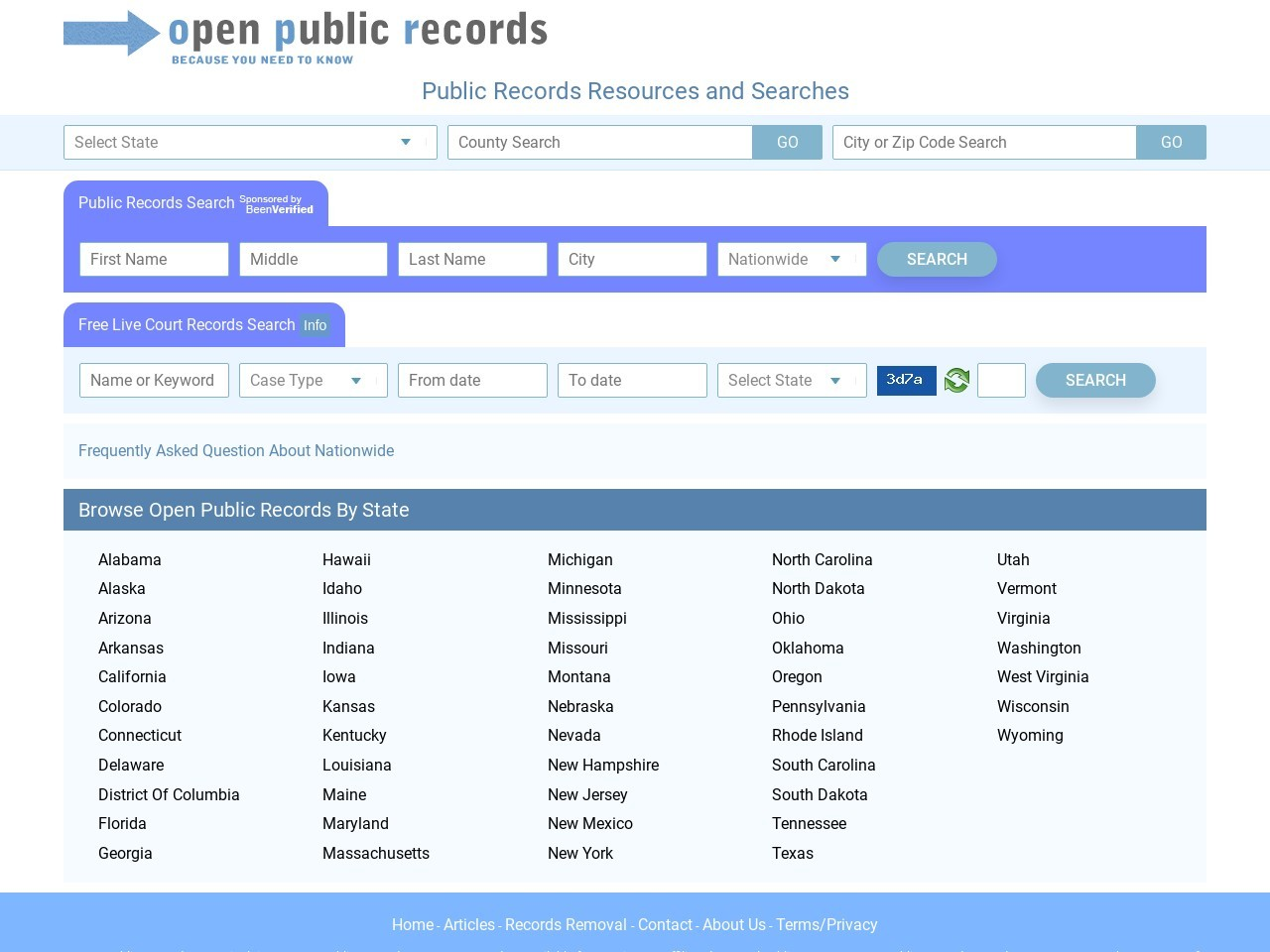 open-public-records.com
