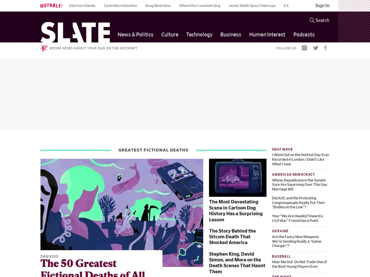 Slate Magazine - Politics, Business, Technology, and the Arts
