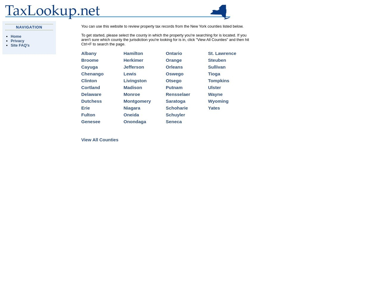 taxlookup.net