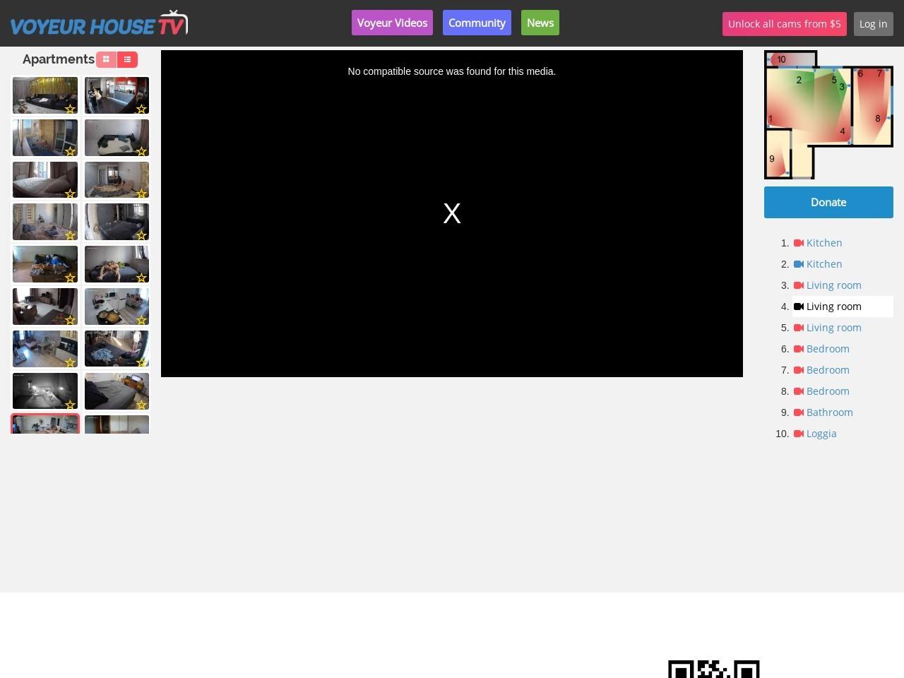 Voyeur House TV - #1 Source for hidden real life cams